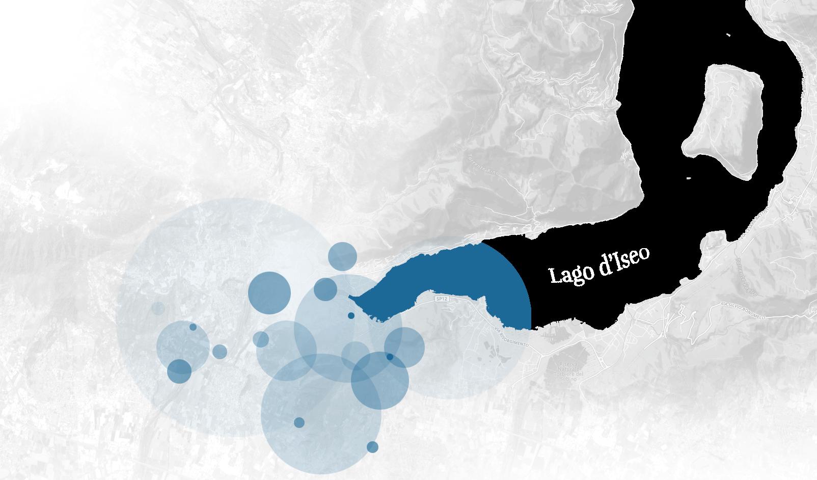 Mappa del Sebino
